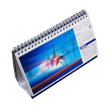 Impresión plástica lenticular 3D del calendario 2016