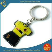 Kundenspezifische Branding Promotion Metall gedruckt Schlüsselanhänger (KD-0711)