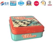 Small Metal Sliding Lid Tin Box Jy-Wd-2016011204