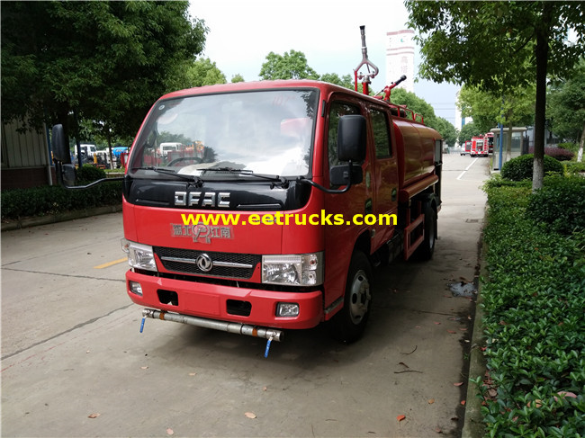 4x2 Emergency Fire Fighting Trucks