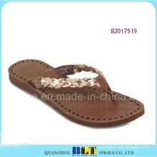 Últimas pantuflas de goma interiores para mujeres