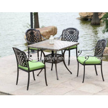 High Quality Cast Aluminum Furniture Outdoor Patio Dining Furniture (SD518; SZ217)