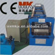 Automatische galvanisierte Boden-Deckungs-Rolle, die Maschine, Bodenbelagmaschine bildet, Bodenplattform, die Maschine bildet