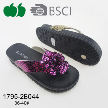Meilleures ventes Lady Beautiful Fashion Style Flip Flops