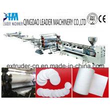 Tecnologia de calendário alta suavemente PE Mirco Foam Sheet Machine