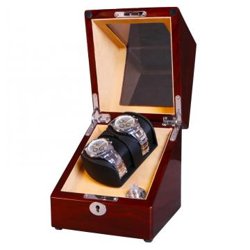 Automatic Winder Watch Winder dalam Wood-Grain