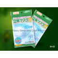 Plastic Mask Packaging Bag with Hanger Hole