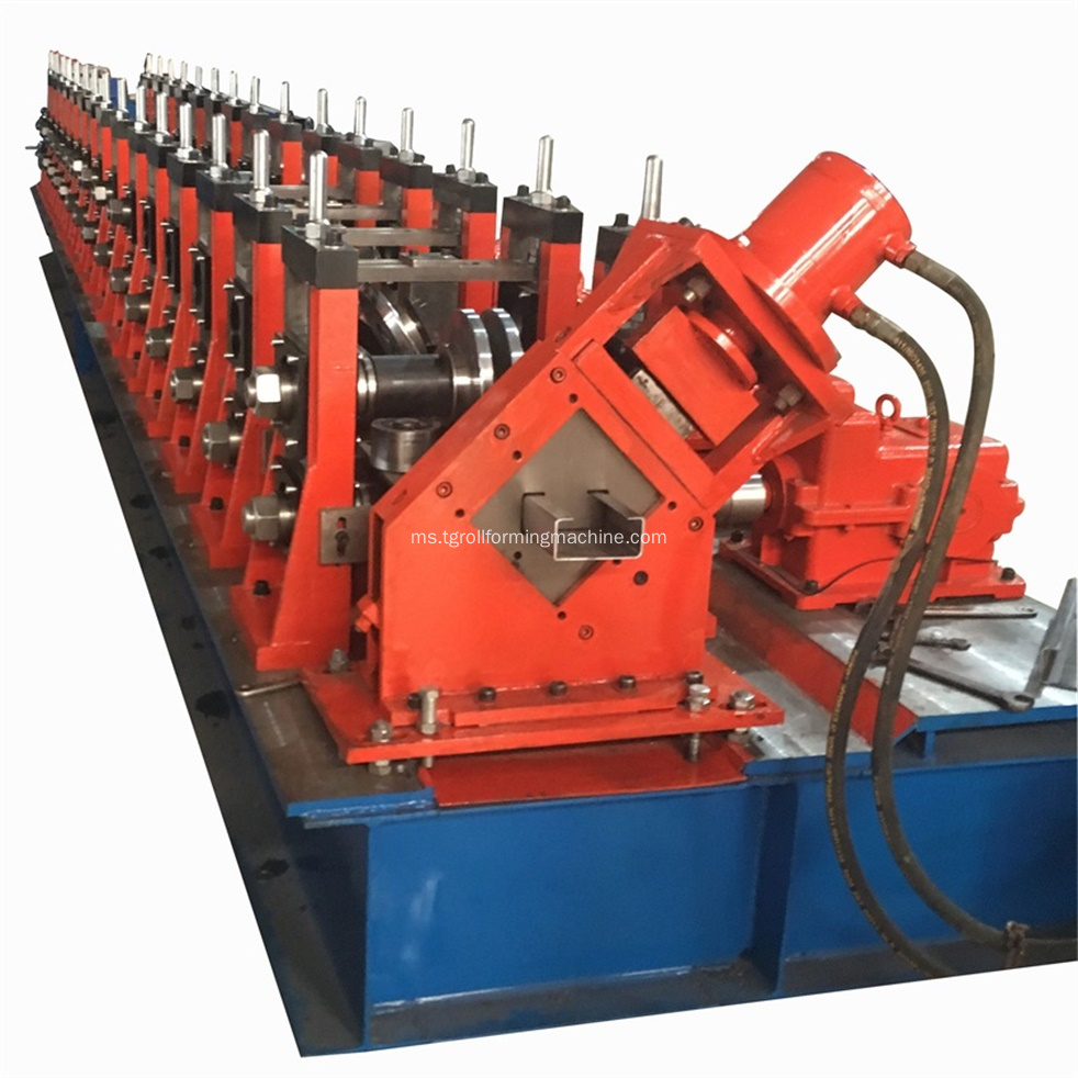 80-300mm Steel C Purlin Making Machine