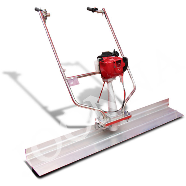 Concrete screed machine