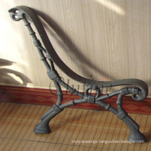 OEM Madrid Ductile Iron Casting Bench Leg for Garden Furniture