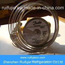 Válvulas de expansión termostáticas Danfoss R404A / R507 / R22 / R134A Tex5