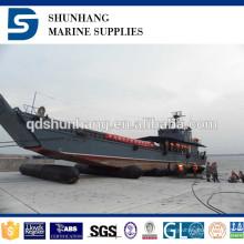 Dia 1.8mx 20m CCS certificado equipo marino inflable airbag de goma