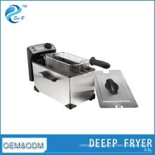 3.5L Home Kitchen Ditachable ElectricDeep Friteuse Filtre à huile Machine