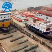 Bolsa a ar marinha de 2.0mx 18m usada para o barco / navio do pontão do salvamento