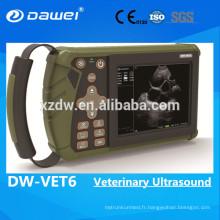 2017 nouveau scanner portatif vétérinaire d'ultrason de Digital pour la grossesse de moutons