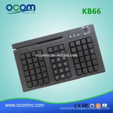 KB66 66 Keys Programmable Keyboard with Optional Card Reader