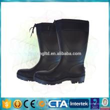 JX-966 impermeável alto PVC elástico botas quentes