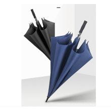Promotion Advertising Wholesale Custom Print Logo Golf Straight Umbrella Windproof