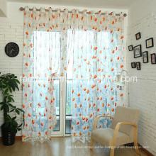 Sunflower Curtain Window Screening Customized for Export