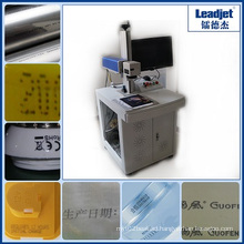 Leadjet 10W 20W 30W CO2 Laser Marking Machine for Glass Bottle