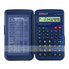 56 fonctions Calculatrice scientifique à 10 chiffres avec couverture avant (LC709F)