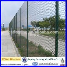 DM quente mergulhado galvanizado Chain Link Fence de BV certificação / ouro fornecedor