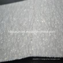 Feuille de fibre de caoutchouc avec résistance à l'huile