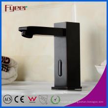 Aceite de goma baño lavabo infrarrojo automático sensor de grifo
