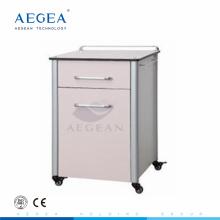 AG-BC013 hôpital clinique chambre blanche bois chinois armoire de chevet