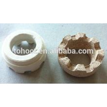 Cordierite Ceramic Ferrules for Nelson Shear Connector Welding studs