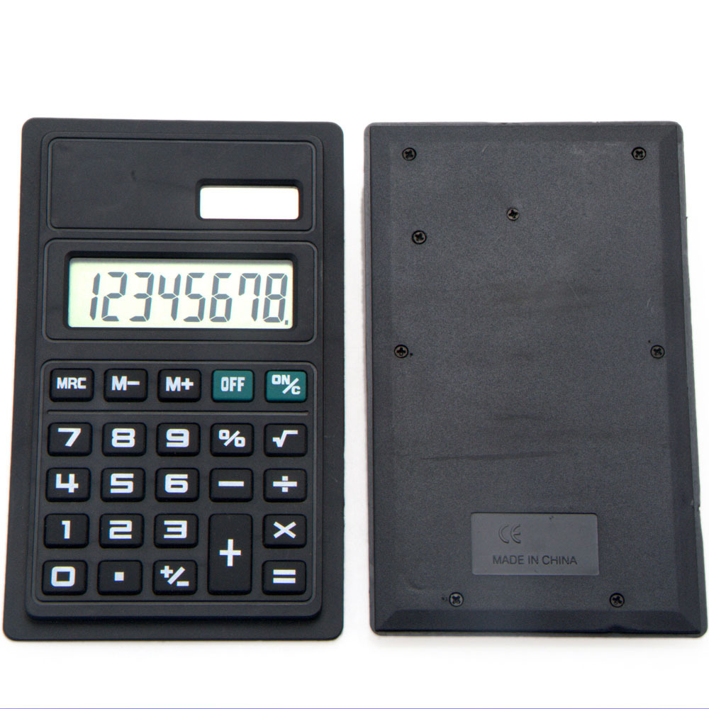 Mini Super Thin Pocket Calculator