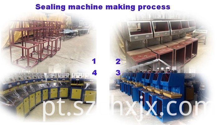 Blister sealing machine making process