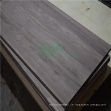Herstellung fester Panel Holz machen mit Schwarznuss