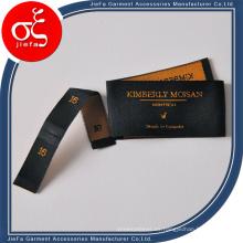Etiqueta tejida de alta calidad, etiqueta de ropa, etiquetas para ropa