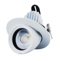Superfície redonda de Dimmable Recessed montado Downlight conduzido