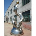 Customized Modern Best Sold Stainless Steel Animal Sculpture for Garden Decoration