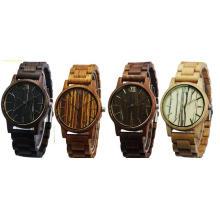 2017 neue Mode Holz Uhren Herren Holz Armband Uhren