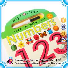 Berufslieferant-kundenspezifisches Design-Kinderaktivitäts-Buch mit Bleistiften