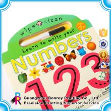 Professional Supplier Custom Design Children Activity Book with Pencils
