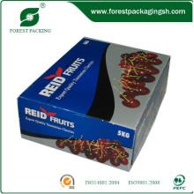 Лакируя Рифленые коробки для свежих фруктов