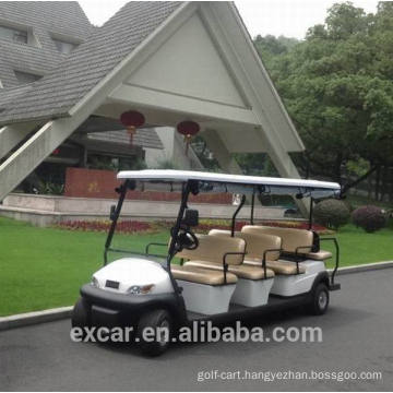 Excar 11 seats cheap electric golf cart for sale China mini bus