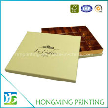 Luxury Cardboard Candy Chocolate Boxes with Paper Divider