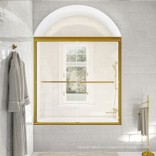 Seawin Online Graphic Design Sliding OEM ODM bathroom Glass Shower bathtub Doors
