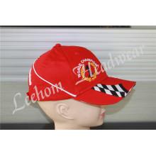 (LR14001) Racing Sports Custom Coton Promotionnel Broderie Lourde Casquette de baseball