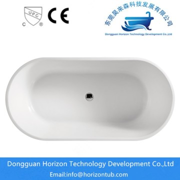 Mordern stand alone tub in bathroom