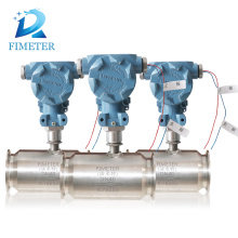 jacketed insulation industrial water flow meter