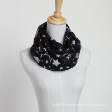New Style Big Size Brand New Voile Star Scarf Fashion Shawls, Lady Scarf, Polyester Scarf