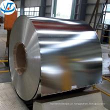 Chapa de aço galvanizado em bobina / chapa de aço folha galvanizada