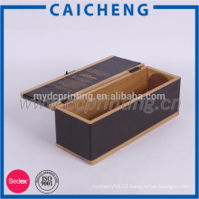 Luxury Gift Packaging Solid Wooden Box For Wine