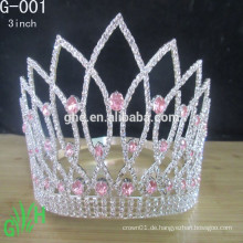 Kundenspezifische Braut-Tiara-Krone, Tiara-Hochzeit cown, Prinzessin-Tiara-Krone